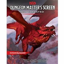 Dungeons & Dragons DUNGEON MASTER'S SCREEN REINCARNATED Wizards of the Coast 5E