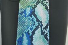 NEW NWT $158 Hale Bob THICK Black w/ Snake Print Detail Legging ~  Medium