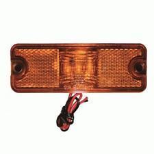 Rectangle AMBER LED LIGHT Side Marker Indicators Lights Truck Trailer Bus