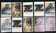 10 Repro Cards WWII  Enlistment NEWELL CONVERS WYETH Advertisements  (u)