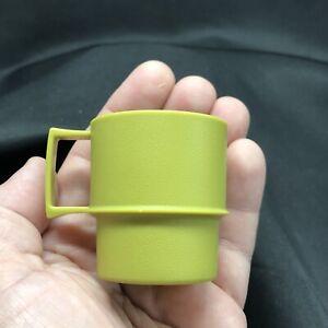 Tupperware Toys Tuppertoys Avocado Green Coffee Mug Plastic 1400-38 FREESHIP
