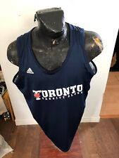 Mens Xxlarge Adidas Basketball Jersey Toronto Varsity Blues Reversible #10 cis