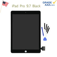 LCD Display Screen Touch Digitizer For iPad Pro 9.7'' Black Replacement Assembly