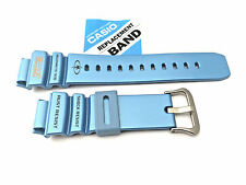 CASIO G-Shock G-9100TC-2 21mm Original Rubber Watch BAND Strap Glossy Blue