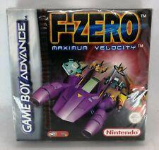 F-Zero: Maximum Velocity for Nintendo Game Boy Advance PAL BRAND NEW SEALED RED