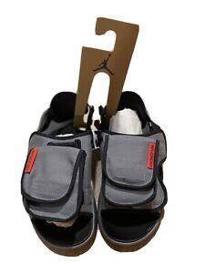 Jordan LS Slide US Mens Sz 12 Smoke Grey CZ0791 001