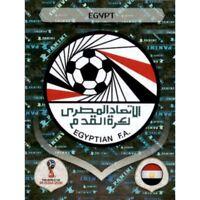 Panini WM 2018 72 Ägypten Egypt World Cup WC 18Wappen Logo Glitzer Foil