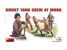 MiniArt 35017 SOVIET TANK CREW al lavoro 1/35 SCALA KIT MODELLINO IN PLASTICA