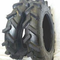 (2 TIRES + 2 TUBES) 5.00X12, 5.00-12 KNK-52 R1 Rib Tractor Tires 4 PR