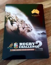 Rugby Challenge 2 The Lions Tour Limited Steelbook Edition Xbox 360 PAL VGC RARE