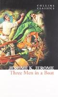 Collins Classics - Three Men In A BOAT POR JEROME K JEROME Libro De Bolsillo 978