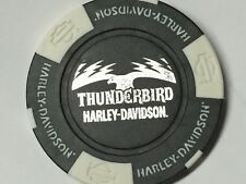 Harley Poker Chip  THUNDERBIRD HD   ALBEQUERQUE, TX    BLACK