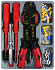 81pc Electricians Tool Kit Screwdrivers Tester Crimping Cutting Stripping Tool