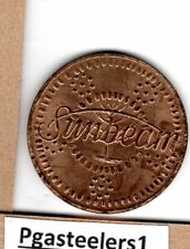 (pgasteelers1) Il. Chicago 1950's Sunbeam Lucky Coin -> Bronze 32mm