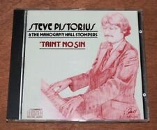 Steve Pistorius & The Mahogany Hall Stompers : 'Taint No Sin. 1991 GHB CD