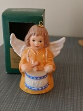 Goebel Annual Christmas Angel Bell Ornament dated 1984