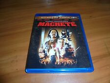 Machete (Blu-ray/DVD, 2011, 2-Disc) Steven Seagal, Danny Trejo Used
