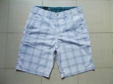 VOLCOM CORPO CLASS Bermuda Uomo Men's Shorts FRICKIN CHINO PLAID Tg 34