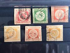 Uruguay Mai Sun die ersten Briefmarken Lot gestempelt .