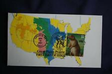 Great Plains Black-Tailed Prairie Dog 34c Stamp Fdc William Cachet S#3506d 11534