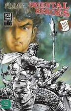 Oriental Heroes Tony Wong Mike Baron #9 Jademan Comics May 1989 NM