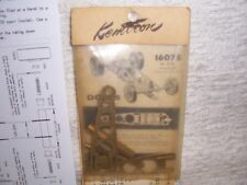 1/32 VINTAGE KEMTRON BRASS SLOT CAR CHASSIS KIT #1607S FOR PITTMAN DC-65A MOTOR
