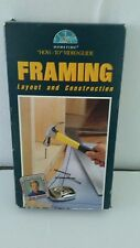 Home Time-Dean Johnson VHS How to Video Guide FRAMING Layout & Construction