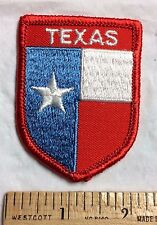 TEXAS State Flag Red White Blue Star Souvenir Embroidered Patch Badge
