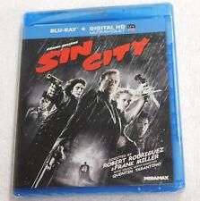 Sin City Blu-Ray New Sealed Bruce Willis Benicio Del Toro Jessica Alba