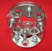 """1.25"""" WHEELS SPACERS Ford 1974-1993 Mustang 4 lug MACHINED 1/2 x 20 studs / nuts"""