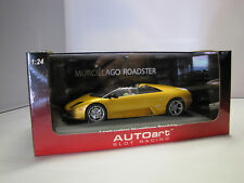 14041  AUTOart Lamborghini Murcielago Roadster ( Gold ) 1:24 - Slot Car -