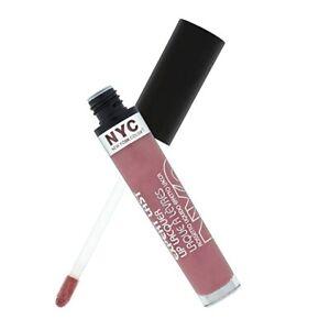 N.Y.C. New York Color Expert Last Lip Lacquer #300-Madison Square Mauve, 0.12 oz