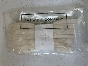 The White Company Cashmere Cable Socks/ bed socks