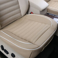 1x PU Leather Auto Car Seat Protector Pad Cover Cushion Accessories 50 x 52cm
