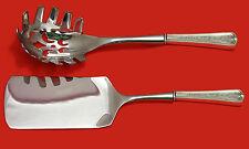 Lexington Eng by D&H Sterling Silver Italian Pasta Server Set 2pc HHWS  Custom