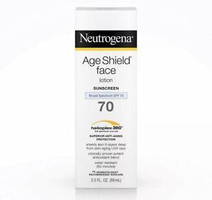 Neutrogena Age Shield Anti-Oxidant Face Lotion Sunscreen / Broad Spectrum SPF 70