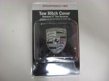 Genuine Porsche Tow Hitch Cover PNA70500302 Black