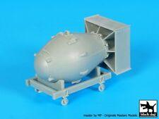 "Black Dog 1/72 ""Fat Man"" Atomic Bomb on Trolley Nagasaki, Japan 1945 WWII A72004"