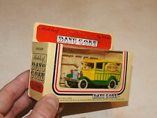 Lledo Days Gone Model A Ford Van with Toy Show West Point 1984