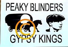 Peaky blinders gypsy  stencil