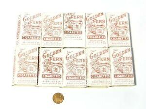 100 x Golden Fern Redford's London Unused EMPTY Cigarette Packets BULK LOT