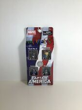 New Minimates Captain America 4 Pack Through the Ages collectible toy Marvel
