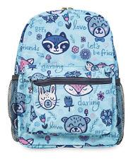 Jenzys Girls Raccoon Mini Toddler Backpack Bag For Preschool or Kindergarten