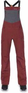 New Dakine Women's GoreTex® 3L Shell Beretta Bib Snowboard Pants Medium Andorra