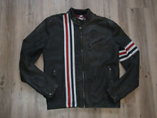 LEVIS PRODUCT WITH ROOTS LEDERJACKE GR. M LIMITED EDITION BIKER STYLE CAFE RACER