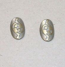 2 Knöpfe Knopf Trachtenknöpfe Metallknöpfe Metallknopf leicht gewölbt
