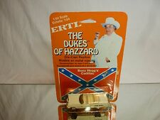 ERTL BOSS HOGG's CADILLAC - DUKES OF HAZZARD - 1:64 - EXCELLENT ON CARD BLISTER
