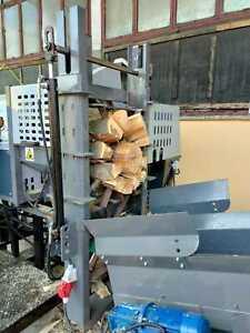 Sägespaltautomat Brennholzautomat Holzspalter Sägespalter SSP-50 Profi NEUHEIT