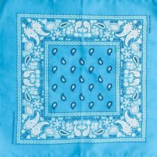 Paisley Bandana 100% algodón Headwear Diadema Perro Corbata Muñequera Reino Unido