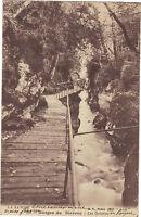 73 - cpa - Les Gorges du Sierroz - Les galeries